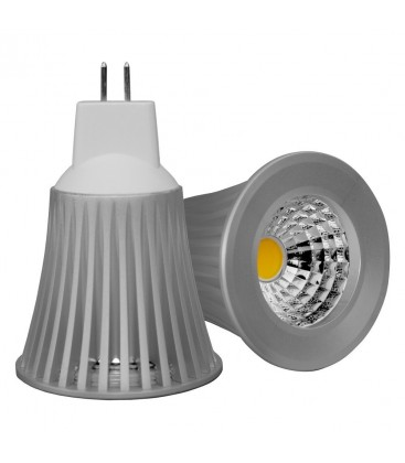 Ampoule LED MR16/GU5.3 - 5W - COB Bridgelux