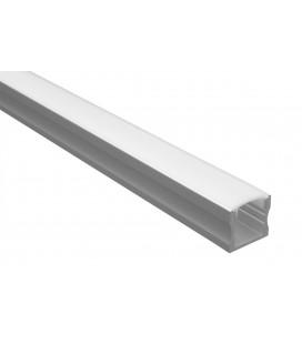 Profilé LED - Série U15 - 1,5 mètre - Diffuseur opaque
