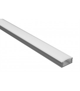 Profilé LED - Serie U07 - 1.5 Mètre - Diffuseur Opaque
