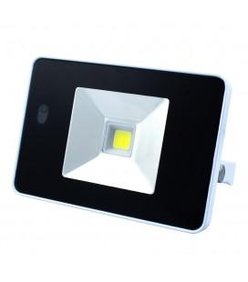 Projecteur LED Ecolife Extra-Plat 240V avec détecteur de mouvement - 10W
