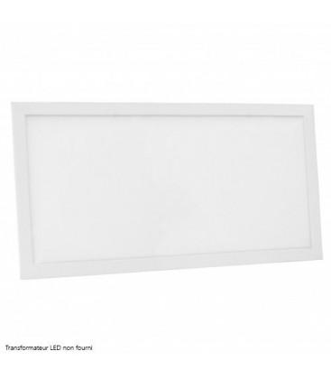 Dalle LED Ecolife Cadre Blanc - 60x30cm - 25W