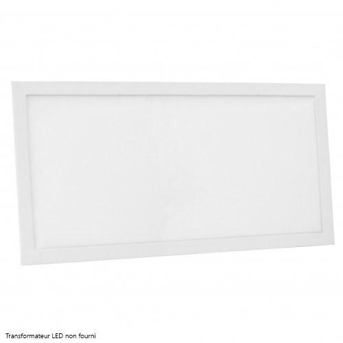 dalle led delitech cadre blanc 60x30cm 24w. Black Bedroom Furniture Sets. Home Design Ideas