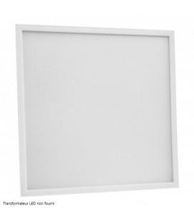 Dalle LED Ecolife Cadre Blanc - 60x60cm - 40W - UGR inférieur à 19 - Basse luminance