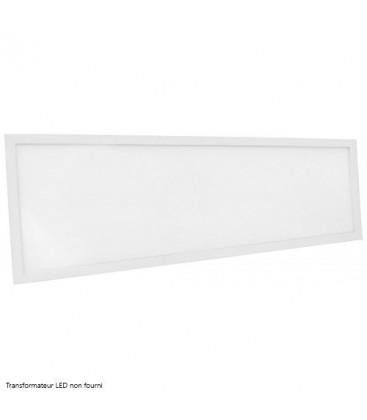 Dalle LED Ecolife Cadre Blanc - 120x30cm - 40W