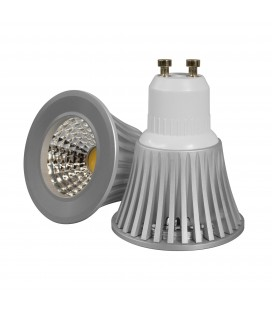 Ampoule LED GU10 Dimmable - 5W - COB Bridgelux