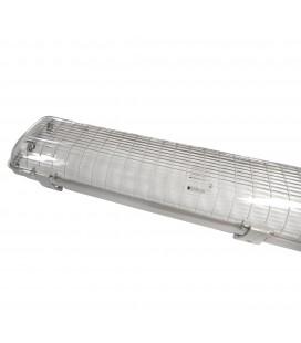 Réglette - Boitier Tube LED T8 Double Etanche 1500 mm