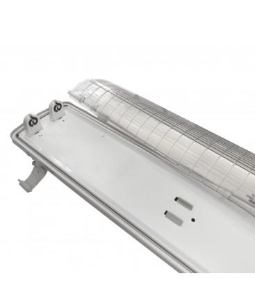 Réglette - Boitier Tube LED T8 Double Etanche 1200 mm