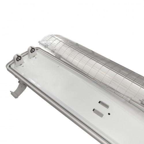 r glette boitier tube led t8 double etanche 1500 mm deliled. Black Bedroom Furniture Sets. Home Design Ideas
