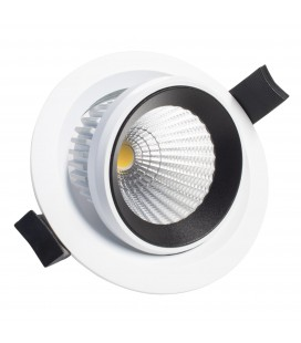 Encastrable Orientable LED 100mm - 10W - IP40 - DeliTech®