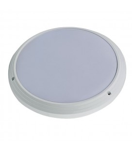Hublot LED Rond IP65 - 18W - 330mm - 840 - Blanc Neutre