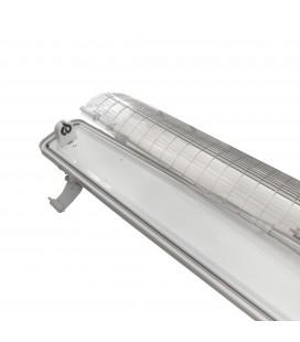 Réglette - Boitier Tube LED T8 Simple Etanche 1500mm