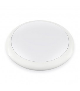 Hublot LED Rond 18W IP65 320mm Blanc Neutre - NOVA - DeliTech®