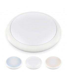 Hublot LED Rond IP65 - 25W - 320mm - NOVA by DeliTech® - Triple couleur de blanc