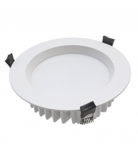 Encastrable LED 170mm - 13W - IP54 - SMD SAMSUNG - DeliTech® - Blanc Chaud