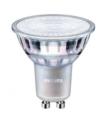 Ampoule LED GU10 - PHILIPS - MASTER 5-40W Dépolie - 4000K Blanc Neutre