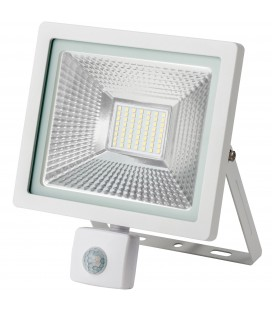 Projecteur LED WAVE avec détecteur - 30W - IP65 - Ecolife Lighting