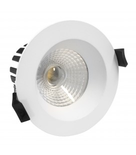 Encastrable LED IP65 - 8W - D80 - Blanc Chaud