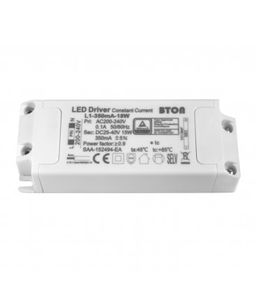 Driver LED non dimmable pour encastrable - 13W - 350 mA