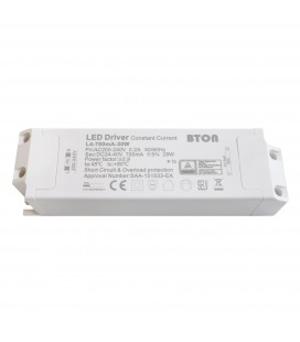 Driver LED CC - 700mA - 24-40VDC - 25W - Non dimmable