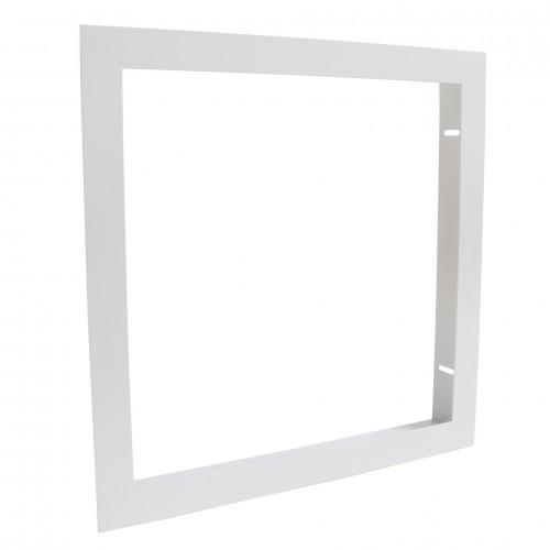 cadre d 39 encastrement pour dalle led 30x30cm faux plafond plaque de pl tre ba13 deliled. Black Bedroom Furniture Sets. Home Design Ideas