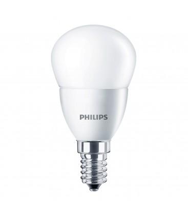 Ampoule LED E14 Dépolie - Philips - CorePro LED 4-25W - Blanc Chaud
