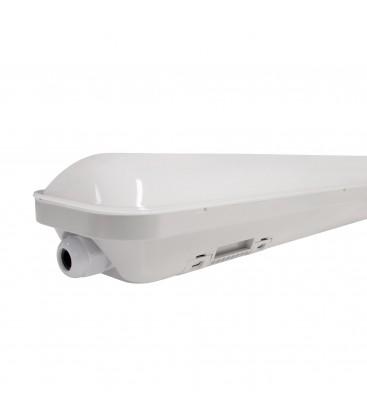 Réglette LED intégrée - Double - 1200mm - 20W - IP66 - Étanche