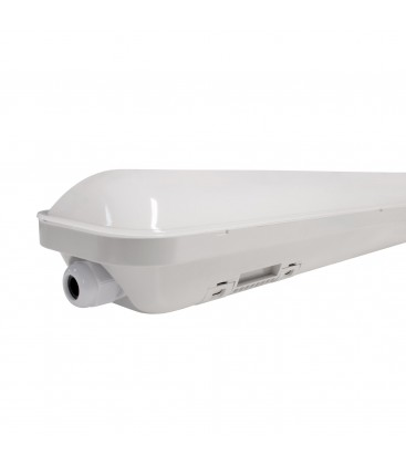 Réglette LED intégrée - 600mm - 18W - IP66 - Étanche