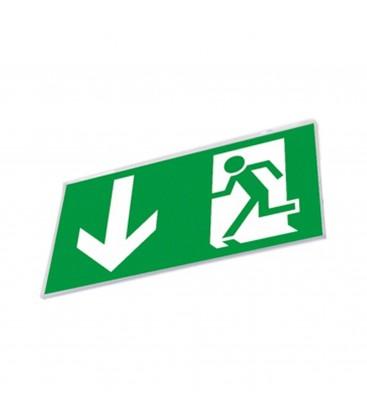 """Panneau avec image """"Sortie de secours"""" / Panneau d'évacuation - PRODIGY"""