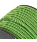 Câble textile - 1m - 2x0.75mm² - Vert Émeraude