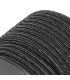 Câble électrique pour suspension - au mètre - Noir