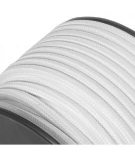 Câble suspension tissu - au mètre - Blanc