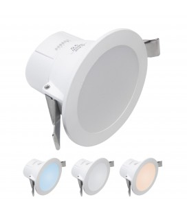 Encastrable LED 7W - Dimmable - Triple couleur de blanc - NOVA - DeliTech®
