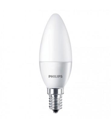Ampoule LED E14 Philips - CorePro LEDcandle 4-25W 2700K Dépolie - Blanc Chaud