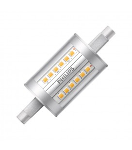 Ampoule LED R7S - Philips - CorePro LED 7,5-60W 78mm - Blanc Neutre