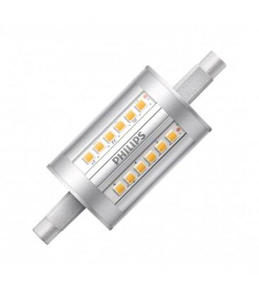 ampoule led r7s philips corepro led 7 5 60w 78mm blanc neutre deliled. Black Bedroom Furniture Sets. Home Design Ideas