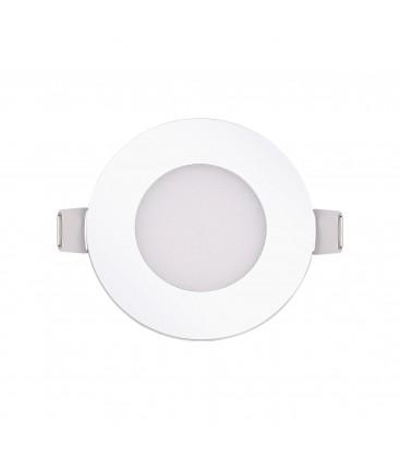 Encastrable LED extra-plat - 3W - Rond - D85mm - DeliTech®