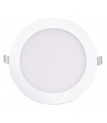 Encastrable LED extra-plat - 12W - Rond - D168.5mm - DeliTech®