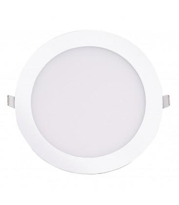 Encastrable LED extra-plat - 18W - Rond - D220mm - DeliTech®
