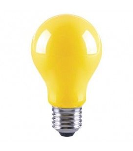 Ampoule LED E27 Dimmable 20%, 60% et 100% - 5W - Lumière jaune anti-moustique - MosquiLED - Ecolife Lighting®