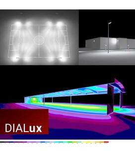Étude d'éclairage photométrique DIALux sur-mesure - DeliTech®