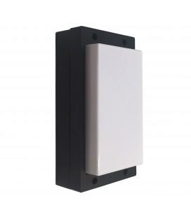 Applique Murale Extérieure 10W - IP54 - Noir - DeliTech®