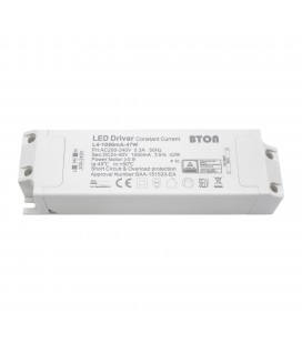 Driver LED CC - 350mA - 24-40VDC - 45W - Non dimmable