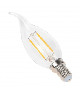 Ampoule LED E14 Flamme - 2.5W - Filament Epistar