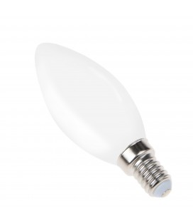 Ampoule filament LED Opaque - E14 - B35 - 4 W - SMD Epistar - Ecolife Lighting®