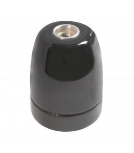 Douille E27 Noire - Suspension Câble Textile