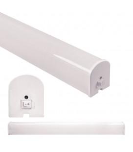 Applique de salle de bain IP44 - avec interrupteur - 8W