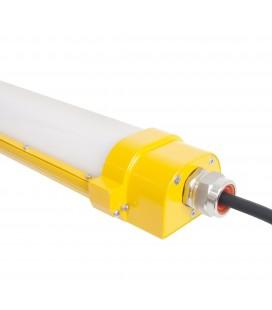 Réglette Intégrée LED ATEX anti-explosion - 80W - 1335 mm - IP65 - DeliTech