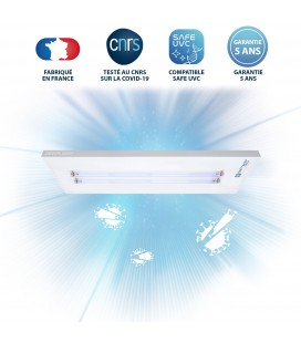 Luminaire UV-C DEEPLIGHT™ - 2 Tubes - Powered by Philips - DeliTech Medical®