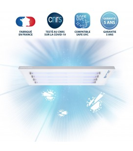 Luminaire UV-C DEEPLIGHT™ - 4 Tubes - Powered by Philips - DeliTech Medical®