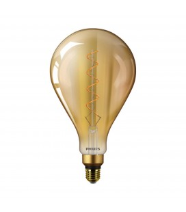 Ampoule LED E27 Philips décorative à filament - CLA LEDBulb ND 5-25W E27 2000K A160 GOLD